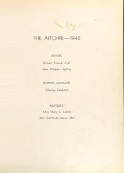 Page 5, 1940 Edition, Hyde Park High School - Aitchpe Yearbook (Chicago, IL) online yearbook collection