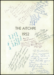 Page 5, 1952 Edition, Hyde Park High School - Aitchpe Yearbook (Chicago, IL) online yearbook collection