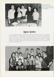 Page 102, 1954 Edition, Hyde Park High School - Aitchpe Yearbook (Chicago, IL) online yearbook collection