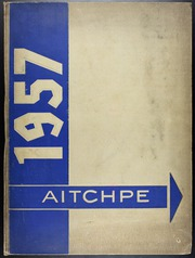 Hyde Park High School - Aitchpe Yearbook (Chicago, IL) online yearbook collection, 1957 Edition, Page 1