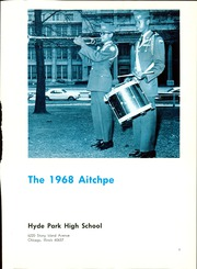 Page 5, 1968 Edition, Hyde Park High School - Aitchpe Yearbook (Chicago, IL) online yearbook collection
