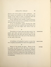 Page 17, 1910 Edition, Asheville School - Blue and White Yearbook (Asheville, NC) online yearbook collection