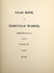 Page 3, 1918 Edition, Asheville School - Blue and White Yearbook (Asheville, NC) online yearbook collection