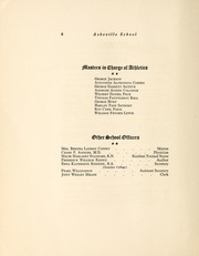 Page 10, 1924 Edition, Asheville School - Blue and White Yearbook (Asheville, NC) online yearbook collection