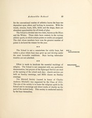 Page 17, 1924 Edition, Asheville School - Blue and White Yearbook (Asheville, NC) online yearbook collection