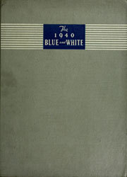 1940 Edition, Asheville High School - Blue and White Yearbook (Asheville, NC)