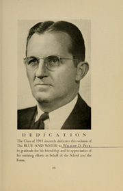 Page 13, 1941 Edition, Asheville School - Blue and White Yearbook (Asheville, NC) online yearbook collection