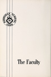 Page 10, 1963 Edition, Asheville School - Blue and White Yearbook (Asheville, NC) online yearbook collection