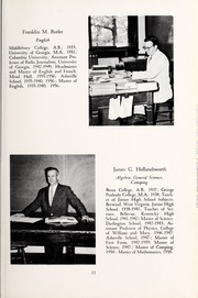 Page 15, 1963 Edition, Asheville School - Blue and White Yearbook (Asheville, NC) online yearbook collection