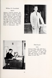 Page 17, 1963 Edition, Asheville School - Blue and White Yearbook (Asheville, NC) online yearbook collection