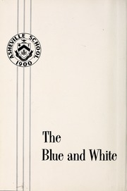 Page 6, 1963 Edition, Asheville School - Blue and White Yearbook (Asheville, NC) online yearbook collection