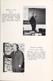 Page 13, 1964 Edition, Asheville School - Blue and White Yearbook (Asheville, NC) online yearbook collection