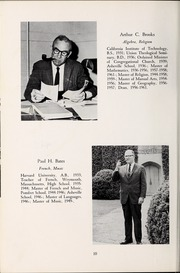 Page 14, 1964 Edition, Asheville School - Blue and White Yearbook (Asheville, NC) online yearbook collection