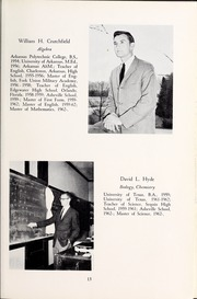 Page 17, 1964 Edition, Asheville School - Blue and White Yearbook (Asheville, NC) online yearbook collection