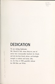 Page 9, 1964 Edition, Asheville School - Blue and White Yearbook (Asheville, NC) online yearbook collection
