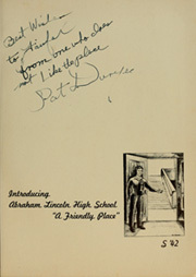 Page 5, 1942 Edition, Abraham Lincoln High School - Roundup Yearbook (San Francisco, CA) online yearbook collection