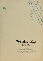Page 7, 1942 Edition, Abraham Lincoln High School - Roundup Yearbook (San Francisco, CA) online yearbook collection