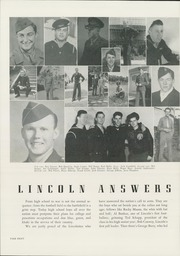 Page 12, 1945 Edition, Abraham Lincoln High School - Roundup Yearbook (San Francisco, CA) online yearbook collection