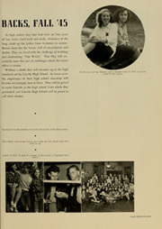 Page 25, 1946 Edition, Abraham Lincoln High School - Roundup Yearbook (San Francisco, CA) online yearbook collection