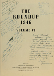 Page 7, 1946 Edition, Abraham Lincoln High School - Roundup Yearbook (San Francisco, CA) online yearbook collection