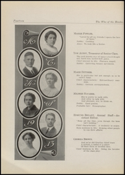 Page 16, 1913 Edition, Independence High School - Orange and Black Yearbook (Independence, KS) online yearbook collection