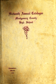 Page 1, 1915 Edition, Independence High School - Orange and Black Yearbook (Independence, KS) online yearbook collection
