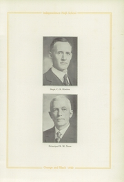 Page 15, 1922 Edition, Independence High School - Orange and Black Yearbook (Independence, KS) online yearbook collection