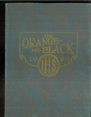 Independence High School - Orange and Black Yearbook (Independence, KS) online yearbook collection, 1923 Edition, Page 1