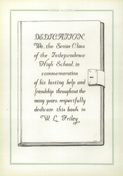Page 10, 1928 Edition, Independence High School - Orange and Black Yearbook (Independence, KS) online yearbook collection