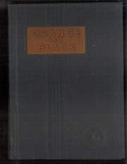 Page 1, 1935 Edition, Independence High School - Orange and Black Yearbook (Independence, KS) online yearbook collection