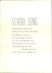 Page 12, 1938 Edition, Independence High School - Orange and Black Yearbook (Independence, KS) online yearbook collection