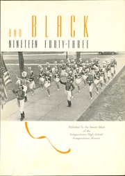 Page 5, 1943 Edition, Independence High School - Orange and Black Yearbook (Independence, KS) online yearbook collection