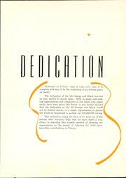 Page 7, 1943 Edition, Independence High School - Orange and Black Yearbook (Independence, KS) online yearbook collection