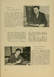 Page 13, 1945 Edition, Independence High School - Orange and Black Yearbook (Independence, KS) online yearbook collection