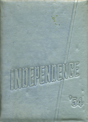 Page 1, 1954 Edition, Independence High School - Orange and Black Yearbook (Independence, KS) online yearbook collection