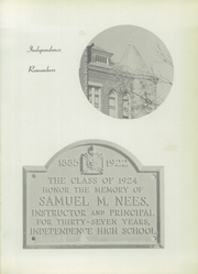Page 5, 1954 Edition, Independence High School - Orange and Black Yearbook (Independence, KS) online yearbook collection
