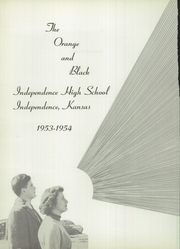 Page 6, 1954 Edition, Independence High School - Orange and Black Yearbook (Independence, KS) online yearbook collection