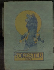 Page 1, 1923 Edition, Forest Avenue High School - Forester Yearbook (Dallas, TX) online yearbook collection