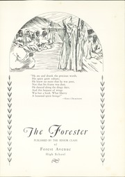 Page 7, 1934 Edition, Forest Avenue High School - Forester Yearbook (Dallas, TX) online yearbook collection