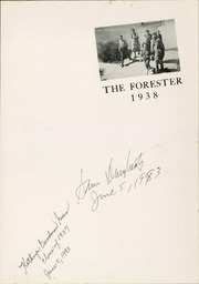 Page 5, 1938 Edition, Forest Avenue High School - Forester Yearbook (Dallas, TX) online yearbook collection
