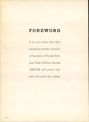 Page 10, 1939 Edition, Forest Avenue High School - Forester Yearbook (Dallas, TX) online yearbook collection
