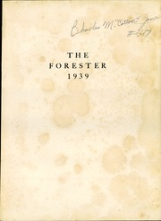Page 5, 1939 Edition, Forest Avenue High School - Forester Yearbook (Dallas, TX) online yearbook collection