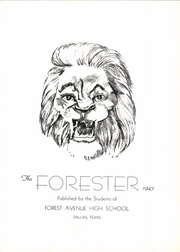 Page 7, 1943 Edition, Forest Avenue High School - Forester Yearbook (Dallas, TX) online yearbook collection