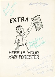 Page 5, 1945 Edition, Forest Avenue High School - Forester Yearbook (Dallas, TX) online yearbook collection