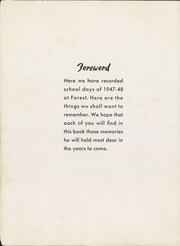 Page 8, 1948 Edition, Forest Avenue High School - Forester Yearbook (Dallas, TX) online yearbook collection