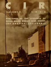 Page 6, 1942 Edition, Susan Miller Dorsey High School - Circle Yearbook (Los Angeles, CA) online yearbook collection
