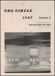 Page 7, 1947 Edition, Susan Miller Dorsey High School - Circle Yearbook (Los Angeles, CA) online yearbook collection