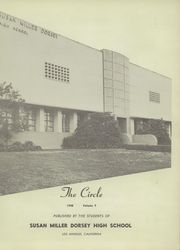 Page 7, 1948 Edition, Susan Miller Dorsey High School - Circle Yearbook (Los Angeles, CA) online yearbook collection