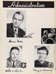 Page 10, 1950 Edition, Susan Miller Dorsey High School - Circle Yearbook (Los Angeles, CA) online yearbook collection