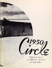 Page 7, 1950 Edition, Susan Miller Dorsey High School - Circle Yearbook (Los Angeles, CA) online yearbook collection